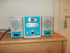 musikanlage in blau/weiß gebraucht