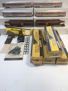 American Flyer S SCALE New Haven SET#5670 year 1956 The Hot Shot