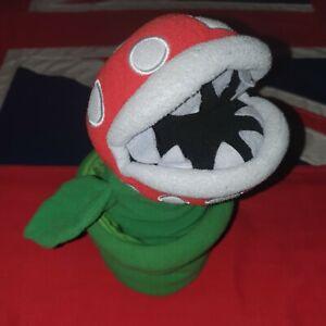 Super Mario Bros Piranha Plant in Pot Plush Hand Glove Puppet Muppet Audrey II 2