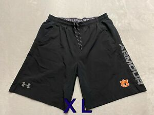 Auburn Tigers Team Issued Player Issued Under Armour XL Shorts