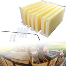 Bee Comb 7PCS Honey Hive Frames Auto Honey Beekeeping Beehive Food-grade