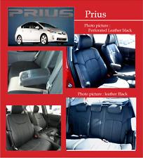 2004-2009 Toyota Prius clazzio Black leather seat cover