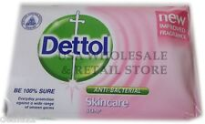 110g Dettol Anti Bacterial Bar Soap SKINCARE PINK Formula Best germ protection