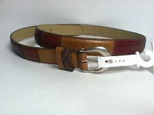 "Relic Women Skinny Patchwork Multi Belt  1""Wide Sz.M St.#RLJ2219998M"