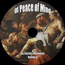 Of Peace of Mind, Lucius Annaeus Seneca, MP3 AudioBook 1 CD