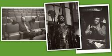 Luciano Pavarotti - 3 photo post cards - NEW, out-of-print - San Francisco Opera