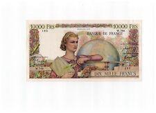 10000 Dix Mille Francs - Kopie COPY - 10.000 Francs 1950 Geldschein Frankreich