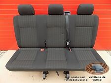 VW T6 Transporter Seat rear bench triple Transporter PANDU T5 Sitzbank