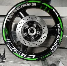 Z1000 Z600 Z750 Z900 z800 ZXR 636 MONSTER ENERGY WHEEL STICKER RIM TAPE KAWASAKI