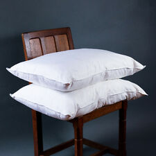 Duck Feather & Down Pillows Pack of 2 - 100% Cotton Cover