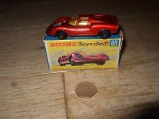 MATCHBOX SUPERFAST PORSCHE 910 IN ORIGINAL BOX No 68 VINTAGE DIECAST RARE 1970