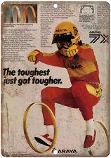 "Araya Rims BMX Vintage Print Ad  10"" x 7' reproduction metal sign"