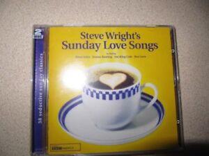 STEVE WRIGHT'S SUNDAY LOVE SONGS VOLUME 1 / I / ONE ( NEW 2 CD SET ) BBC RADIO 2