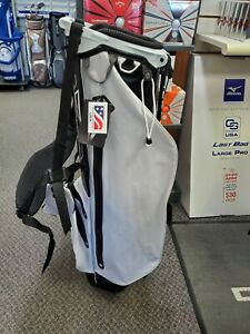 Sun mountain h2no white stand golf bag