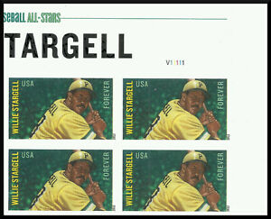 Scott 4696a - The 2012 Willie Stargell Issue, Imperforate Plate Block - Mint, NH
