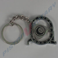 ROTOR HOUSING Keyring Key Chain ,Chrome, for Rotary Mazda Engine 10A 13B 12A RX8