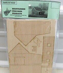 MPP 102HO HO Laser Cut Barn Kit