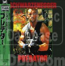 Predator (Schwarzenegger) - Japanese Laserdisc - RARE + OBI Strip