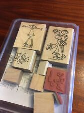 Girlfriends   Stampin' Up   2002   set of 7