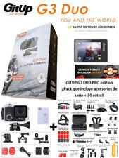 REBAJAS Camara deportiva GITUP G3 DUO + maleta 50 accesorios Garantia Gitup