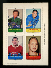 1969 1969-70 OPC O-PEE-CHEE~4 IN 1 (FOUR IN ONE)~BOBBY HULL+~PERFECT FOCUS