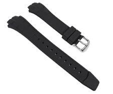Casio Pulsera relojes pulsera de reloj resina negra para mtd-1057 mdv-501