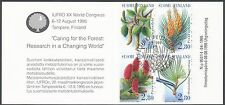 Finland 1995 Used Booklet - Forestry Research - Trees - First Day Cancel