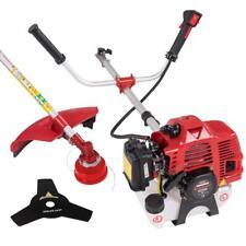 3 PS Benzin Motorsense Rasentrimmer Freischneider Trimmer 52 ccm 2,2 kw Rot