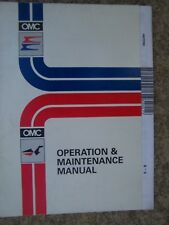 1997 OMC Evinrude Johnson 5 - 8 HP Outboard Motor Owner Operation Manual  S