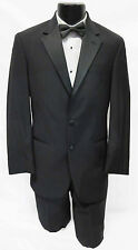 38L New Black Calvin Klein Tuxedo with Flat Front Pants *DISCOUNTED PROM SALE*