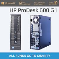 HP ProDesk 600 G1: Intel i3/i5 4th Gen, up to 8GB RAM, up to 240GB SSD/1TB HDD!
