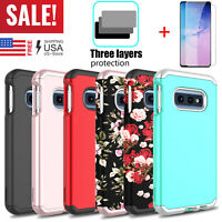 For Samsung Galaxy S10 Plus / e Case Full Protective Cover With Screen Protector