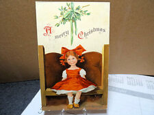 1909 Postcard Christmas RUTH Signed Ellen Clapsaddle