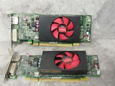 Lot of 2 Dell 0F9P1R AMD Radeon 1GB GDDR3 Graphics Card GPU Low Profile F9P1R