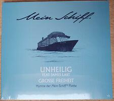 """Mein Schiff TUI Cruises Auslaufhymne """"Große Freiheit"""", NEU, Unheilig, James Last"""