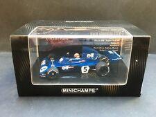 Minichamps - Jackie Stewart - Tyrrell - 006 - World Champion - 1:43 - 1973 -Rare