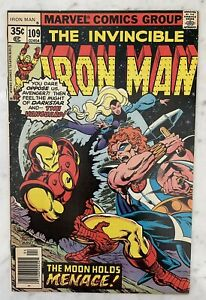 IRON MAN #109-1ST APPEARANCE VANGUARD-SOVIET SUPER-SOLDIER JACK OF HEARTS VF/NM