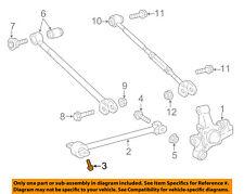 TOYOTA OEM Rear Suspension-Strut Rod Front Bolt 90105A0212
