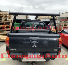 3'' Black Powder Coated Alloy Ladder Rack Mitsubishi MN/ML Triton 2006-2014 TUB