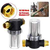 """New Stens 758-523 Garden Hose Filter to PP Washer 1//2/"""" Male Inlet 3//4/"""" GH Outlet"""