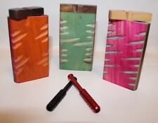 Wooden Dugout With Metal Bat Or Cig, Assorted Designs, Buy 3 Get 1 Free
