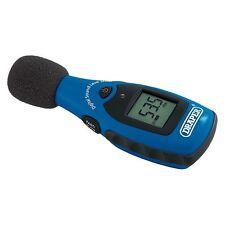 Draper 34546 Nivel de Sonido Digital Medidor de medición del ruido trabajo garaje herramienta de mano