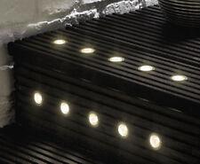 MiniSun Warm White 40mm LED Garden Deck Lights - IP67