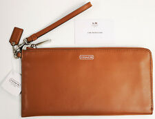 Coach Darcy Leather Holdall Wallet F51352 British Tan - Retired- BRAND NEW w/TAG