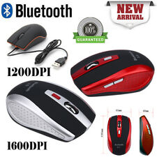 Mini Adjustable DPI Bluetooth Wireless Optical Mouse Mice for Laptop Computer