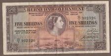 1952 BERMUDA 5 SHILLING NOTE