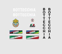 BOTTECCHIA decalcomanie bicicletta, Trasferibili, Adesivi N.3