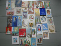 Vintage Christmas Greeting Card Lot - Xmas Joy Peace Holidays  - Lot Of 39 Cards