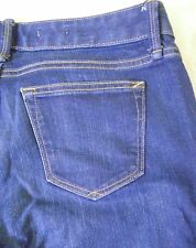 Womens GAP 1969 Blue Jeans Size 30L Real Straight