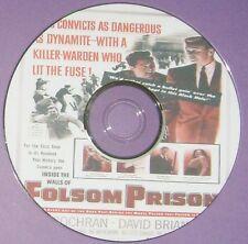 FILM NOIR 302: INSIDE THE WALLS OF FOLSOM PRISON 1951 Crane Wilbur Steve Cochran